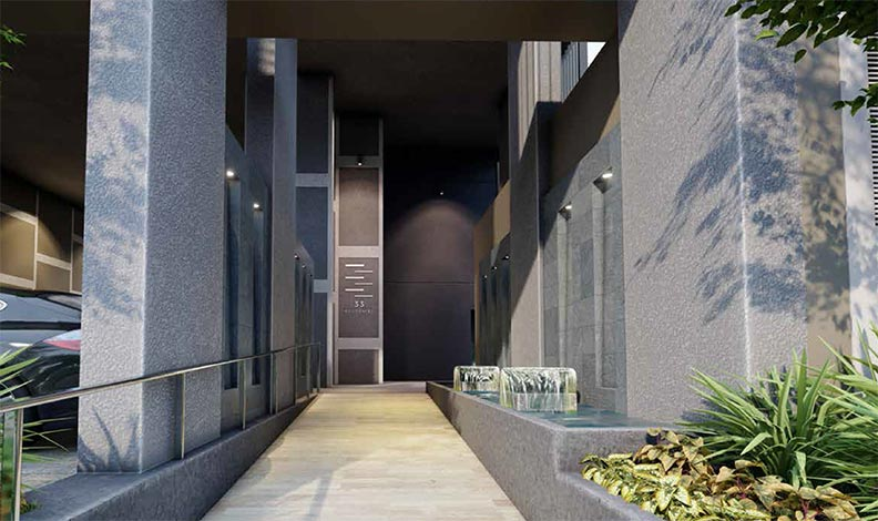 33-Residences-Entrance-In
