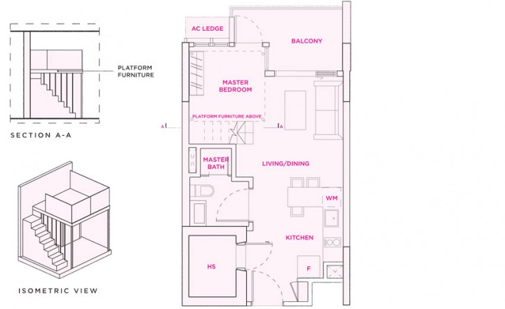 Floor Plan Type-S2a