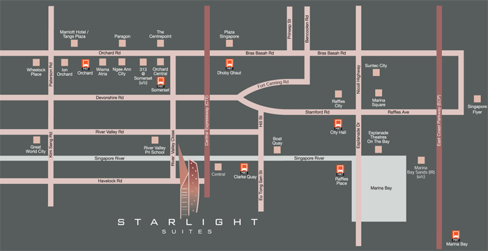 Starlight-Suites-location