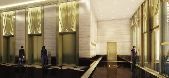 Crown-Robinson-lift-lobby