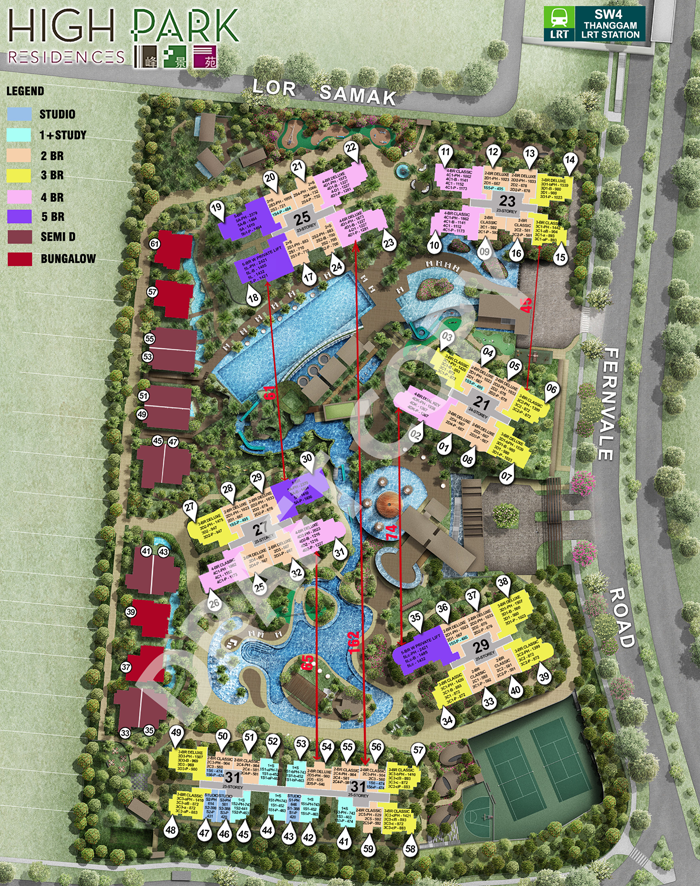 High-Park-Residences-siteplan