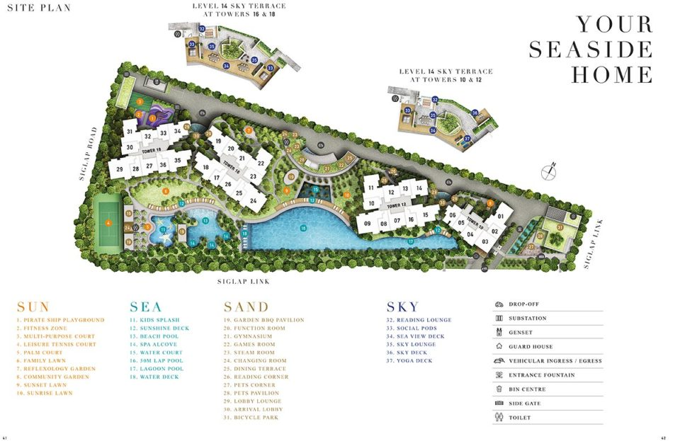Seaside-SitePlan